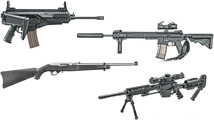16 specialty bug out rifles built for stow and go