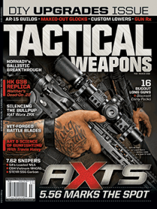 Tactical Weapons February/March 2016 cover