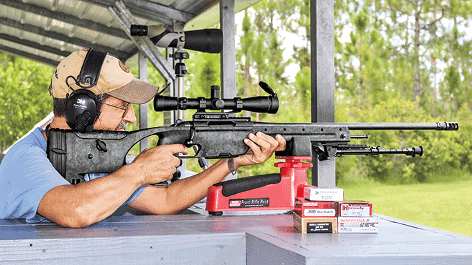 Steyr Arms SSG Carbon Bolt-Action Rifle field