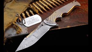 Wilson Combat Damasteel StarRaider Knife