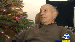 World War II Vet Christmas Surprise LAPD