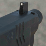Springfield Armory Threaded Barrel XDM Pistol front sight