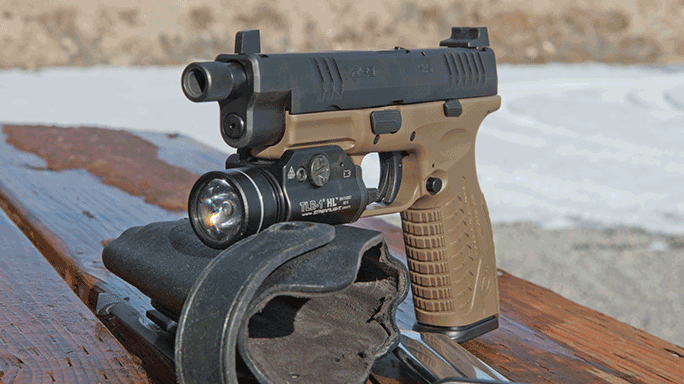 Springfield Armory Threaded Barrel XDM Pistol lead