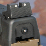 Springfield Armory Threaded Barrel XDM Pistol rear sight