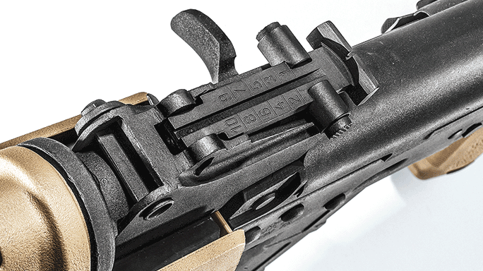 Interarms High Standard AK-T Rifle rear sight
