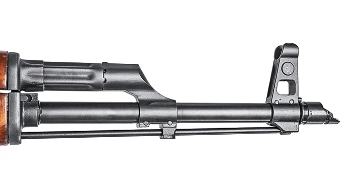 James River Armory Russian AKM Rifle muzzle