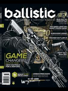 Ballistic Spring 2016 cover