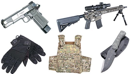 15 Pieces of Gear From the Cover of Ballistic Magazine Spring 2016