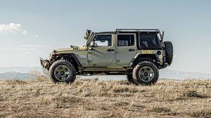 Kilroy Rugged Ridge Jeep Terrain Modular Front hill