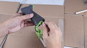 DIY Silicon Carbide Coating Grip Step 7
