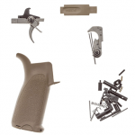 Bravo Company AR-15 Enhanced Lower Parts Kit fde
