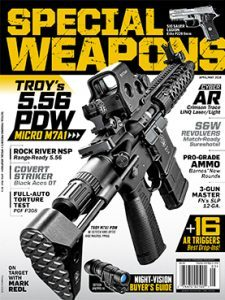 Special Weapons April/May 2016 cover