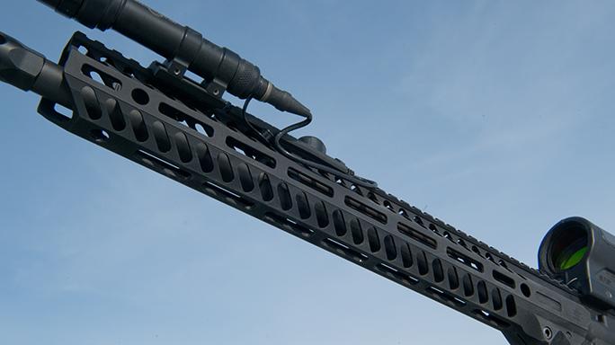video Seekins Precision SP-15 NOXs Forged Rifle handguard