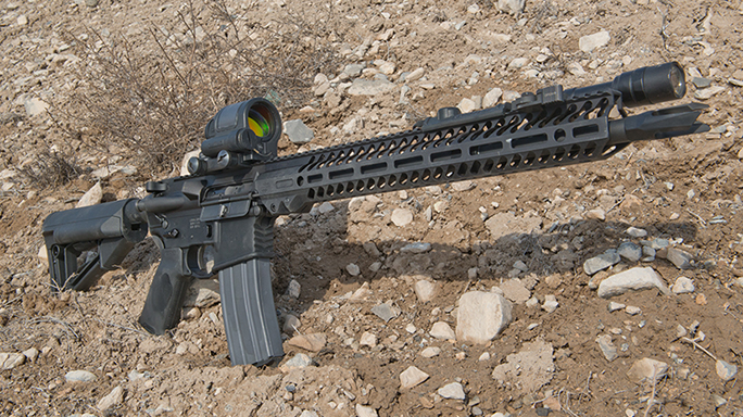 video Seekins Precision SP-15 NOXs Forged Rifle solo