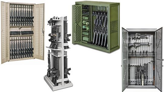 Rack It: 10 Tank-Tough Gun Lockers For Police