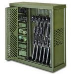 Gun Lockers Spacesaver Universal Weapon Rack