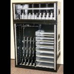 Gun Lockers Tiffin Metal Products Weapons Rack