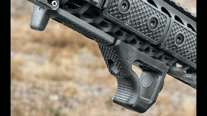 LWRCI IC-DI Rifle test foregrip