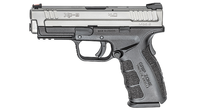 "Test Springfields 9mm XD Mod.2 4"" Service Model Pistol left"