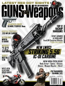 Guns & Weapons for Law Enforcement February/March 2016 cover