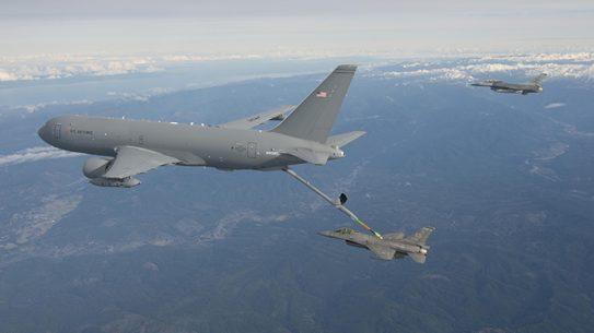 KC-46A Pegasus In-Flight Refueling Demo