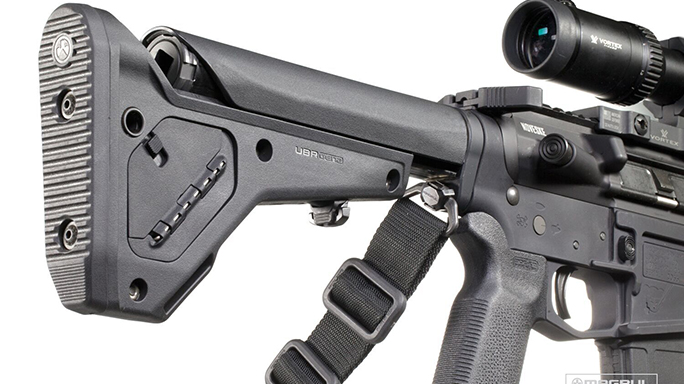 Magpul UBR 2.0 Collapsible Stock attached