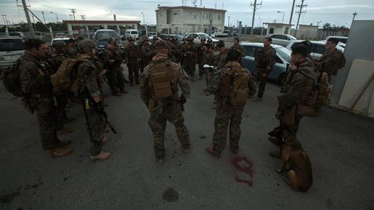 Marines Maritime Raid Force Camp Hansen, Okinawa, Japan