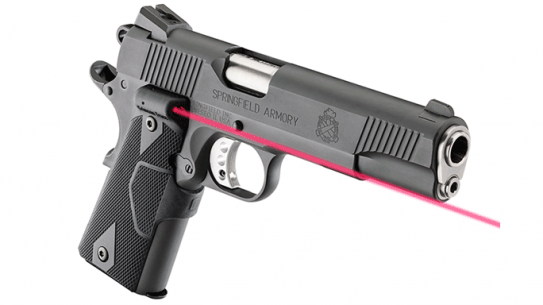 Springfield Armory 1911 Loaded Parkerized Pistol laser