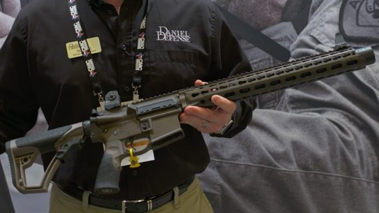 Daniel Defense DDM4 ISR Gen2 Integrally Suppressed Rifle SHOT Show 2016