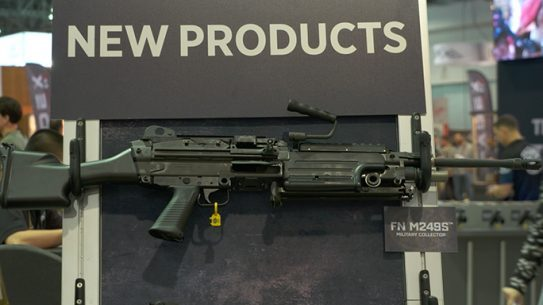 FN America M249S SHOT Show 2016