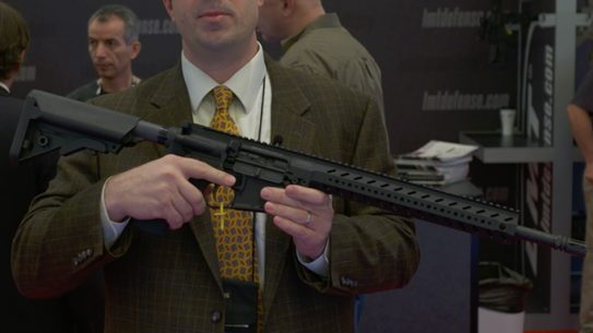 Lewis Machine & Tool MARS Modular Ambidextrous Rifle System SHOT Show 2016