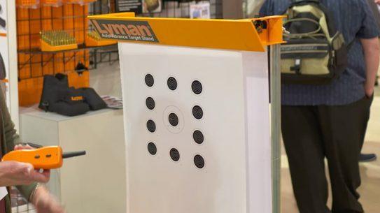 Lyman Auto-Advance Target Stand SHOT Show 2016