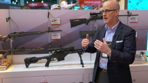 Savage Arms 110 BA Stealth Precision Rifle SHOT Show 2016