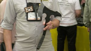 TOPS Knives Vi Ax Fieldcraft Folder SHOT Show 2016