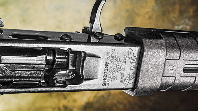 Palmetto State Armory PSAK-47 Test engraving