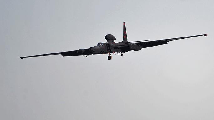 U-2S reconnaissance aircraft flying U.S. Air Force