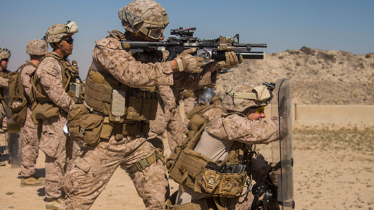 1/7 Marines Training Non-Lethal Weapons