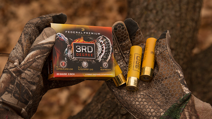 Federal Premium 3rd Degree 20 Gauge Turkey Hunting Ammo field