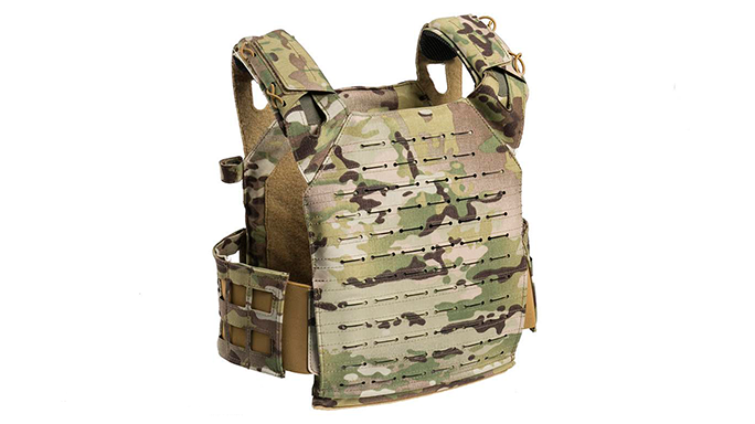 4101 Tactical Scorpion Super Light Plate Carrier back