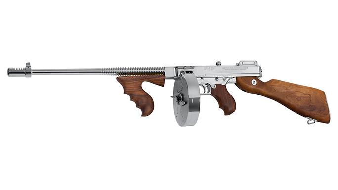 Thompson Chicago Typewriter Tommy Gun chrome