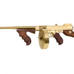 Thompson Chicago Typewriter Tommy Gun gold