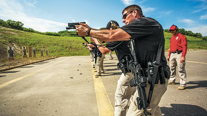 Castle Rock Police Glock range