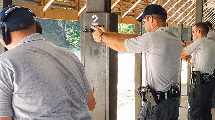 Georgia State Patrol Glock 43 range
