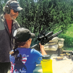 Glock help 2016 Whittington Center's Adventure Camp
