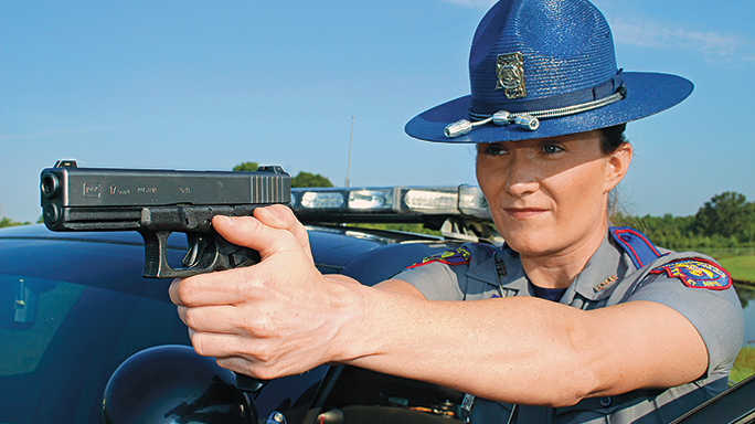 Mississippi Highway Patrol Glock 17 field