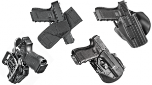 4 Holsters Glock MOS Pistols