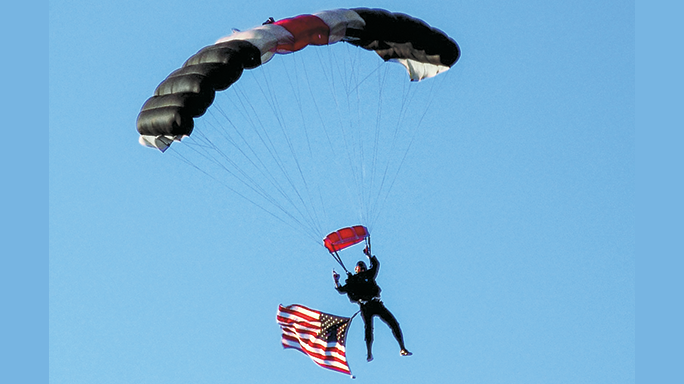 Phoenix Patriot Foundation Glock parachute