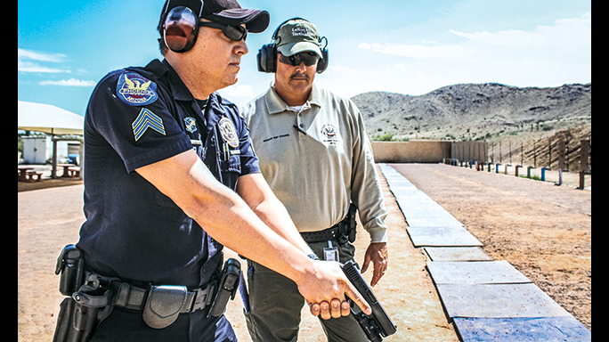 Phoenix Police Department Glock range