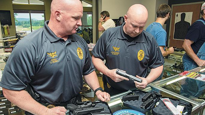 Talladega Police Department Glock officers