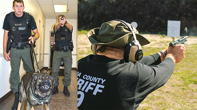 Volusia County Sheriff's Office Glock 35 K-9